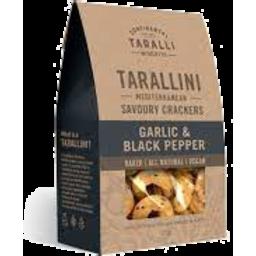Photo of Tarallini Parm Garlic & Black Pep 125g