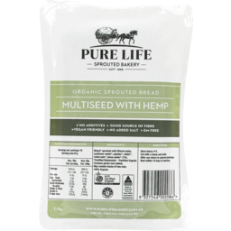 Photo of Pure Life Bakery Sprouted Multi-Seed With Hemp Loaf (Unsliced)