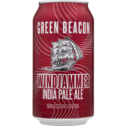 Photo of Green Beacon Brewing Co. Windjammer IPA Cans