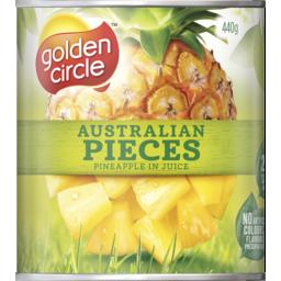 Photo of Golden Circle® Australian Pineapple Pieces In Juice 440g
