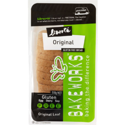 Photo of Liberty Bread Bakeworks Gluten Free Organic 540g