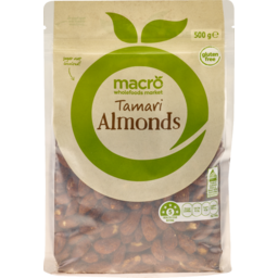 Photo of Macro Tamari Almonds 500g