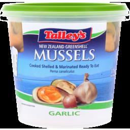 Photo of Talleys New Zealand Greenshell Mussels Garlic 375g