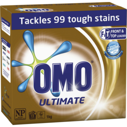 Photo of Omo Laundry Powder Concentrate Ultim Front & Top Loader 1kg