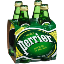 Photo of Perrier Glass Bottles 4 X 330ml