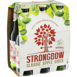 Photo of Strongbow Classic Apple Cider 6 X 355ml Bottles