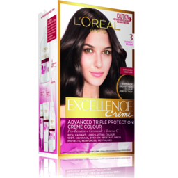 Photo of L'oreal Excellence 3 Darkest Brown