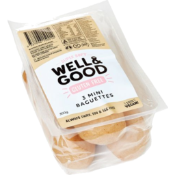Photo of W&G Mini Baguette Roll 300gm