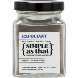 Photo of Simple As That Exfoliant 80g