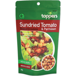 Photo of Salad Toppers Croutons Sundried Tomato Parmesan 60g