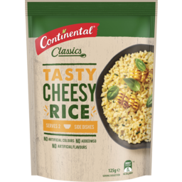 Photo of Continental Rice Cheesy 125gm