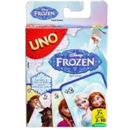 Photo of Uno Frozen Card Game