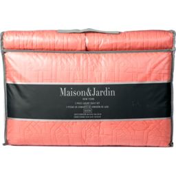 Photo of Maison & Jardin 3 Piece Quilt Set - Queen