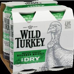 Photo of Wild Turkey Bourbon & Dry Cans