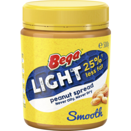 Photo of Bega Peanut Butter Smooth Light 470gm