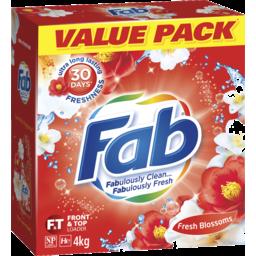 Photo of Fab Fresh Blossoms Laundry Powder Detergent 4kg