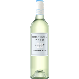 Photo of 	Mcguigan Zero Sauvignon Blanc 750ml ALCOHOL FREE