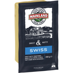Photo of Mainland Swiss Cheese 200 G