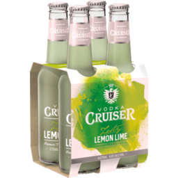 Photo of Vodka Cruiser Zesty Lemon-Lime Bottles