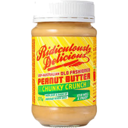 Photo of Ridiculously Delicious Peanut Butter Chunky 375g