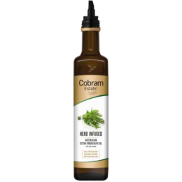 Photo of Cobram Estate Extra Virgin Olive Oil With Herb 250ml