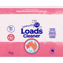 Photo of Community Co Laundry Powder Pink Frangipani and Boronia 1kg