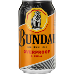 Photo of Bundaberg OP Rum & Cola Cans