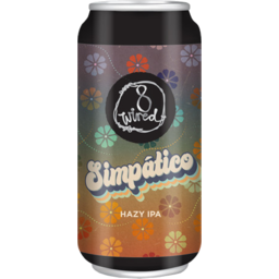 Photo of 8 Wired Simpatico Hazy Ipa 440ml