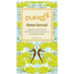 Photo of Pukka Three Fennel Tea 20 Pack