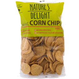 Photo of Nature's Delight Corn Chips Round 500gm