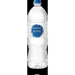 Photo of Crystal Waters Spring Water 1.5lt