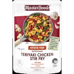 Photo of Masterfoods™ Teriyaki Chicken Stir Fry Recipe Base 175g