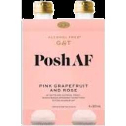 Photo of AF Drink Gin & Tonic Grapefruit & Rose 4 Pack