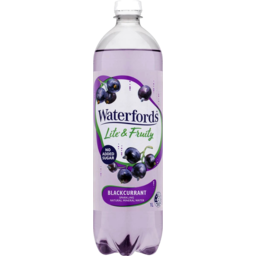 Photo of Waterfords Lite & Fruity Blackcurrant 1l
