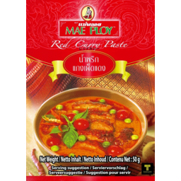 Photo of Mae Ploy Red Curry Paste 50g