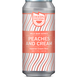 Photo of Quiet Deeds Peaches And Cream Imperial Cream Sour