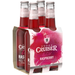 Photo of Vodka Cruiser Wild Raspberry Bottles