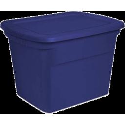 Photo of 18 Gallon Blue Tote