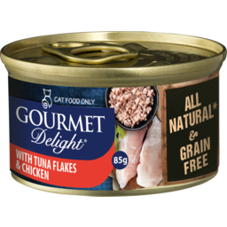 Photo of Gourmet Delight Tuna Flakes With Chicken Breast 85g