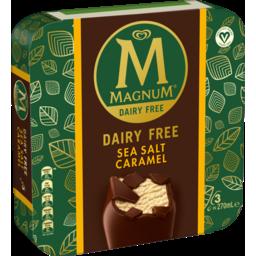 Photo of Streets Magnum Dairy Free & Vegan Sea Salt Caramel Ice Cream 3pk