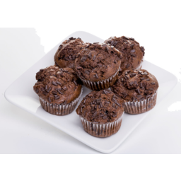 Photo of Muffins Chocolate Double 6 Pack