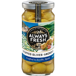 Photo of A/Frsh Olives Anchov Stuf235gm