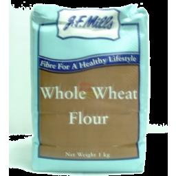 Photo of J.F. Mills Whole Wheat Flour