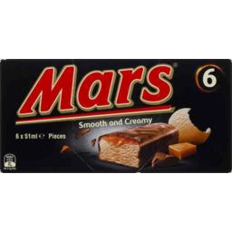 Photo of Mars Ice Cream 6pk