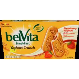 Photo of Belvita Sandwich Strawberry Yoghurt 253g