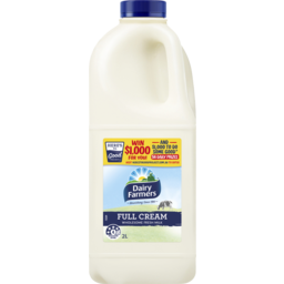 Photo of Dairy Farmers Whole Milk 2l