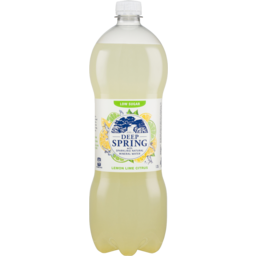 Photo of Deep Spring With Sparkling Natural Mineral Water Lemon Lime Citrus 1.25l