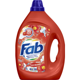 Photo of Fab Fresh Blossoms, Liquid Laundry Washing Detergent, 2 Litres