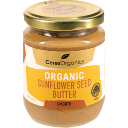Photo of Ceres Organics Organic Sunflower Seed Butter Smooth 220g