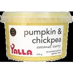 Photo of Yalla Pumpkin & Chickpea Coconut Curry